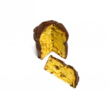 Panettone tradizionale ricoperto di cioccolato