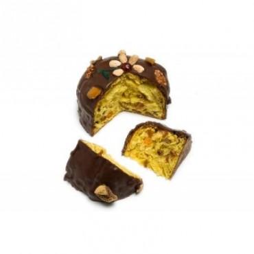 Panettone Nostrano ricoperto di cioccolato
